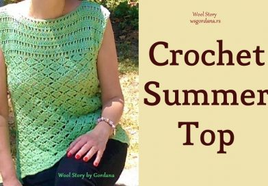 153 – Crochet Lace Blouse