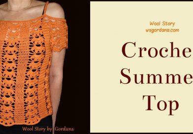 158 – Crochet Top