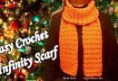 134 – DIY Crochet Infinity Scarf