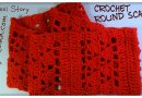 114 – How to Crochet a Round Scarf