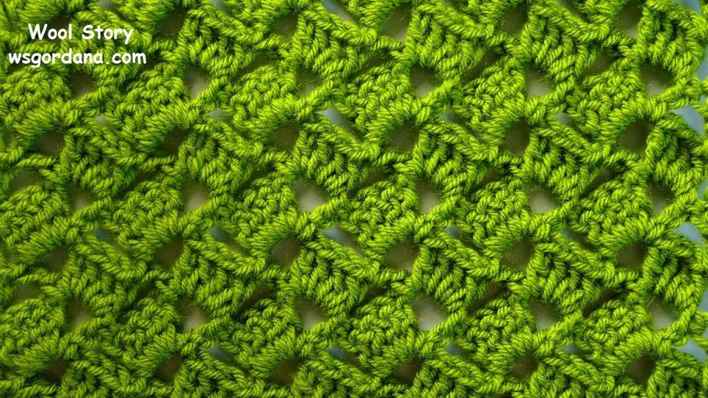 116 Diy Crochet Shell Stitch Scarf Wool Story By Gordana