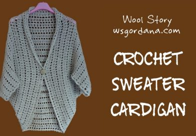 174 DIY Tutorial – Crochet Cardigan