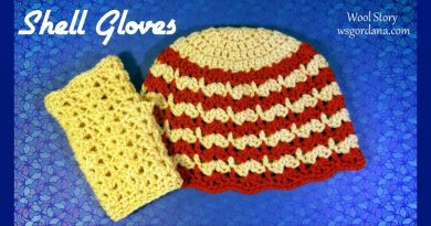 112 – How to Crochet a Shell Gloves