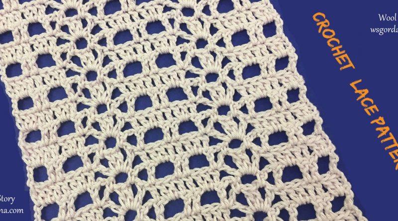 Diy Crochet Easy Lace Pattern Wool Story By Gordana
