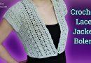212 – DIY Crochet Lace Jacket Bolero