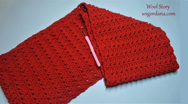 227 – Crochet Round Scarf Tutorial Easy and Fast