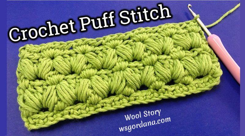 229 – DIY Tutorial Puff Stitch Pattern
