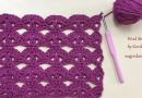 230 – DIY Tutorial Crochet Lace Stitch Pattern