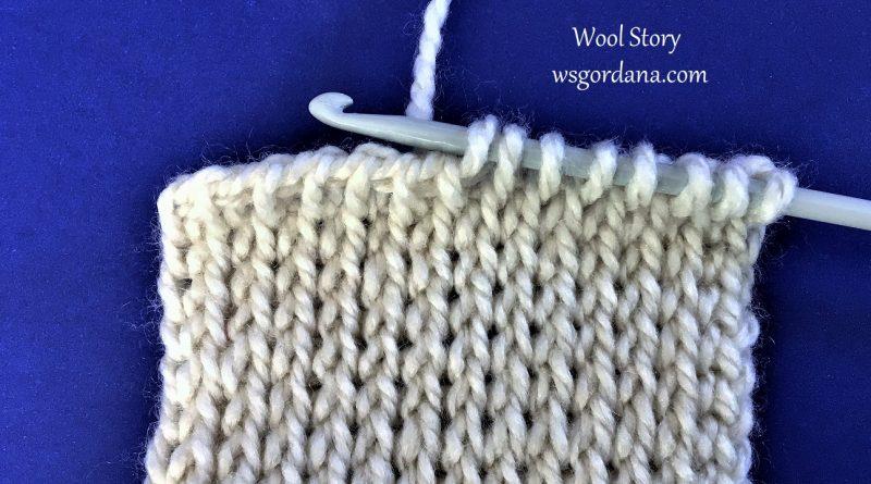 231 – DIY Tutorial Tunisian Knit Stitch