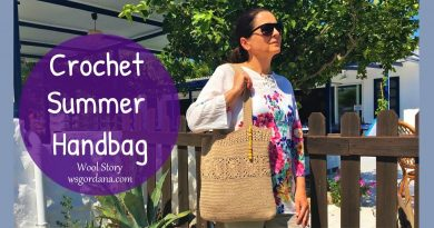 241 – How to Crochet a Summer Beach Handbag