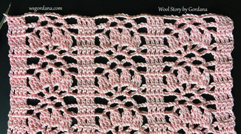 248 – DIY Tutorial Crochet Lace Pattern for Scarf