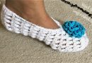 253 – DIY How to Crochet Adult Slippers