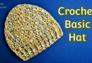 254 – Easy Hat Tutorial – Crochet Basic Hat