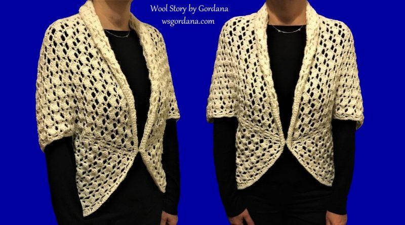 255 – DIY Tutorial How to Crochet An Easy Shrug