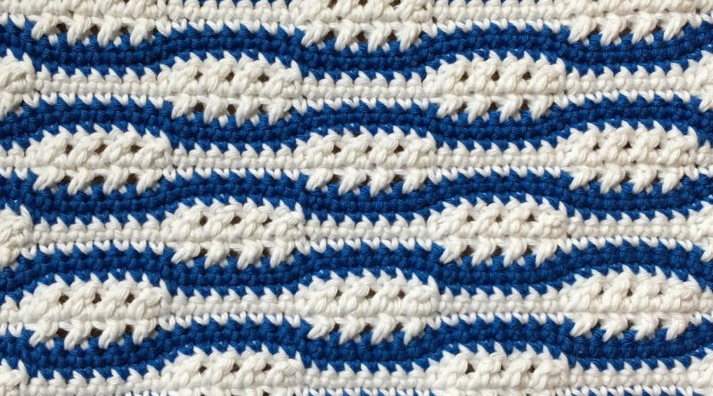 261 – DIY Tutorial Crochet Crossed DC With SC stitches