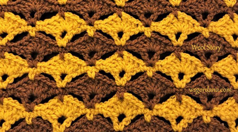 262 – DIY Tutorial Crochet Shell Pattern