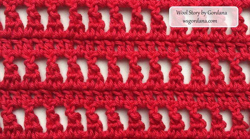 272 – DIY Tutorial Crochet Inverted Y- Stitch