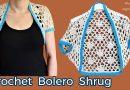 279 – DIY Tutorial How To Crochet Bolero Shrug