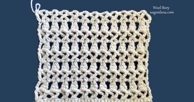 286 – CROCHET CROSSED DOUBLE Stitch Tutorial