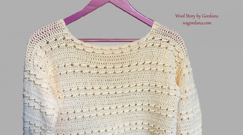 294 – DIY Tutorial – How to Crochet a Sweater with Sleeves