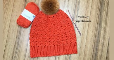 296 – How to Crochet an Easy Winter Hat