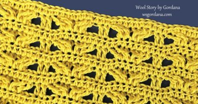 297 – How to Crochet TC and DC Cross Stitches Pattern