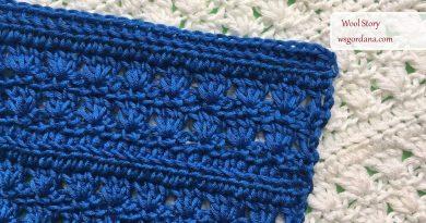 299 – Easy Crochet Stitch Pattern for a Scarf, Blouse, Vest