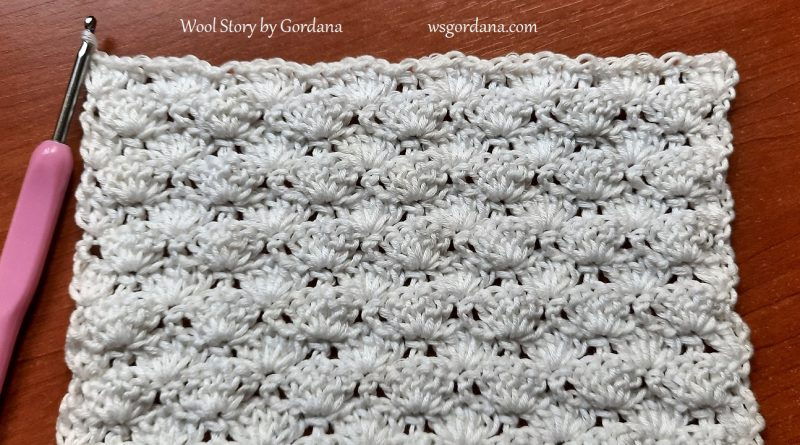 309 – Learn How to Crochet Shell Stitch Pattern