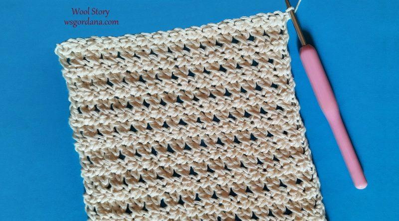 315 –  Crochet Crossed Stitches Pattern Tutorial