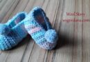 332 – How to Crochet Baby Slippers (0 – 12 months) Easy Tutorial