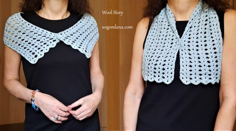 334 – How to Crochet an Easy Lace Scarf with Cotton Yarn for Beginners